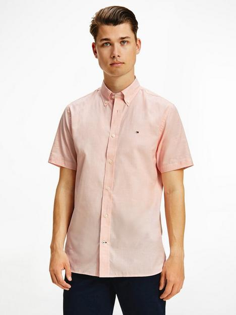 tommy-hilfiger-natural-soft-poplin-short-sleeve-shirt-summer-sunset