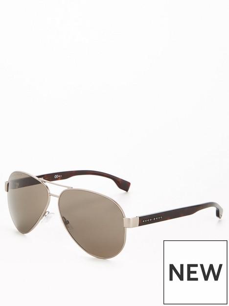 boss-metal-rectangular-sunglasses-brown