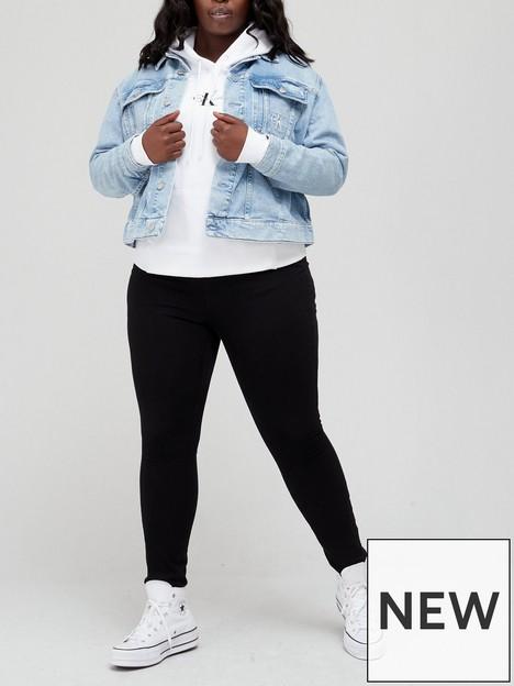 calvin-klein-jeans-90s-denim-trucker-jacket-blue