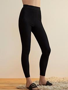 river-island-premium-rib-leggings-black