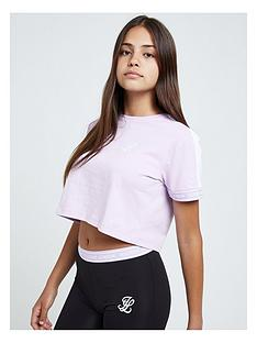 illusive-london-illusive-london-girls-tape-cuff-crop-short-sleeve-t-shirt