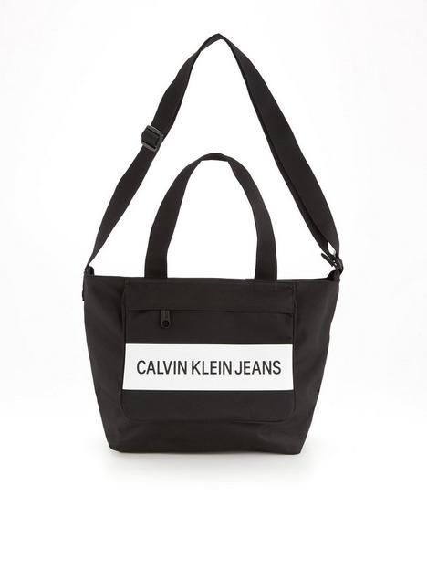 calvin-klein-jeans-nylon-logo-front-shopper-black