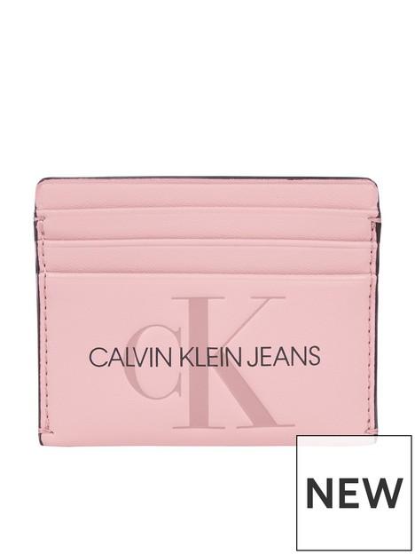 calvin-klein-jeans-logo-card-holder-pink