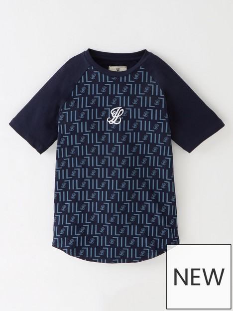 illusive-london-boys-elite-short-sleeve-raglan-t-shirt-navynbsp