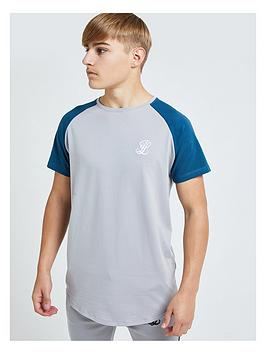 illusive-london-boys-hybrid-short-sleeve-raglan-t-shirt-grey