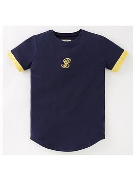 illusive-london-boys-element-short-sleeve-tech-t-shirt-navy
