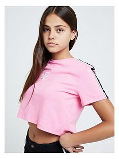 illusive-london-illusive-london-girls-tape-crop-short-sleeve-t-shirt
