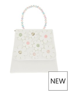 monsoon-girls-rainbow-pearl-daisy-bag-white
