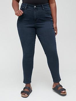 calvin-klein-jeans-plus-high-rise-skinny-jean-black