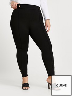 ri-plus-ponte-popper-hem-legging-black