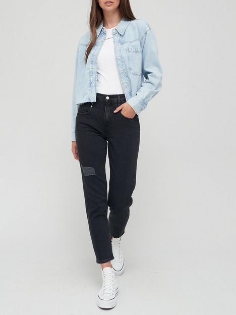 calvin-klein-jeans-mom-jean-black