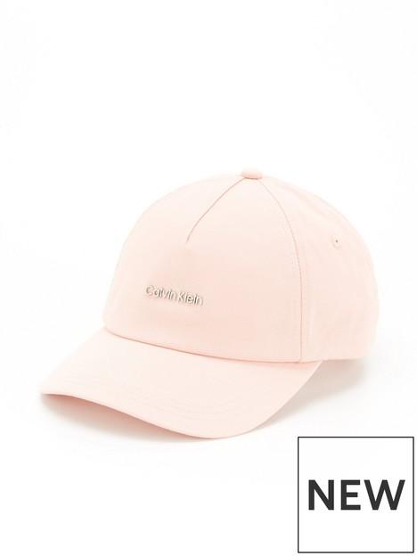 calvin-klein-metal-logonbspcap-pink