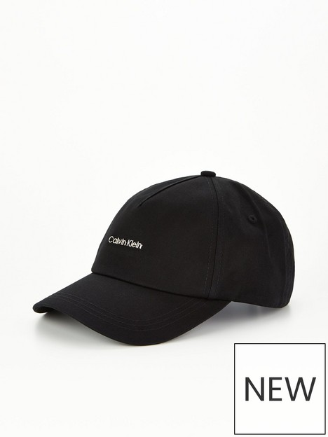 calvin-klein-logonbspcap-black