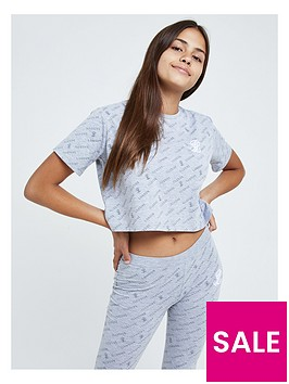 illusive-london-illusive-london-girls-aol-crop-short-sleeve-t-shirt