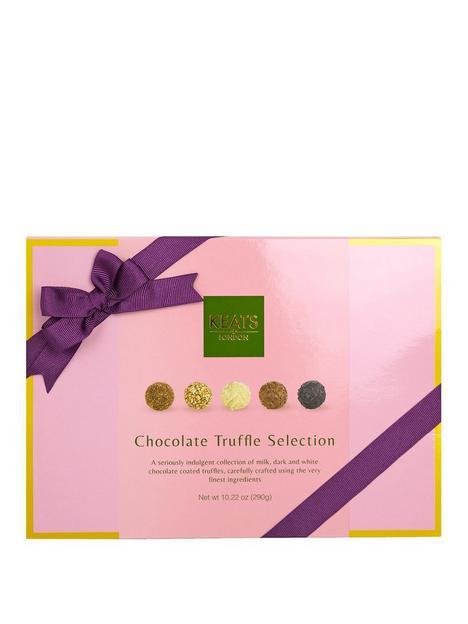 keats-chocolate-truffle-selection-pink-box-with-purple-ribbon-290g