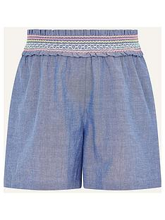 monsoon-girls-fiesta-chambray-short-blue