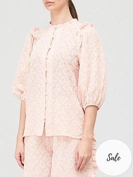 hofmann-copenhagen-adalene-shirt-pink