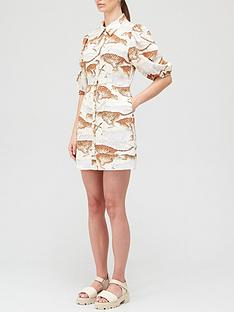 hofmann-copenhagen-madeleine-mini-dress-cream