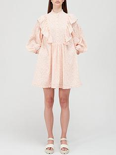 hofmann-copenhagen-elise-mini-dress-peach