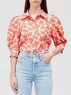 hofmann-copenhagen-mirabelle-shirt-coral