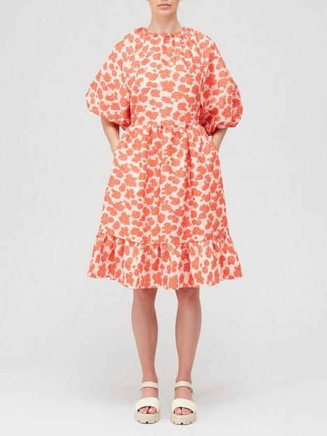 hofmann-copenhagen-clemente-dress-coral