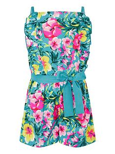 monsoon-girls-samia-floral-frill-playsuit-green