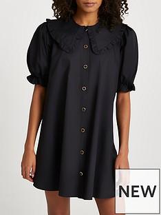 river-island-collar-smock-dress-black