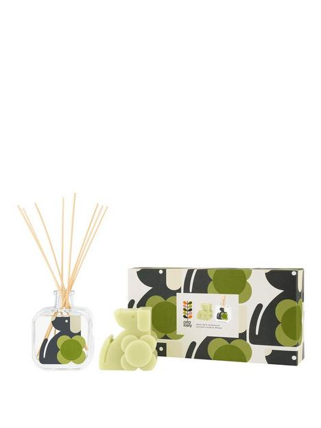 orla-kiely-house-moulded-candle-diffuser-gift-set