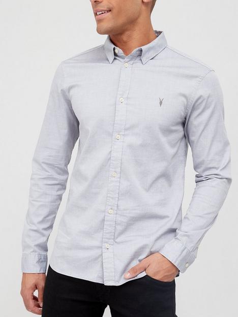 allsaints-hawthorne-long-sleeve-shirt-grey
