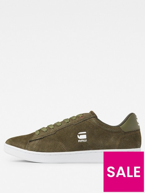g-star-raw-g-star-cadet-ii-lace-up-brushed-trainer