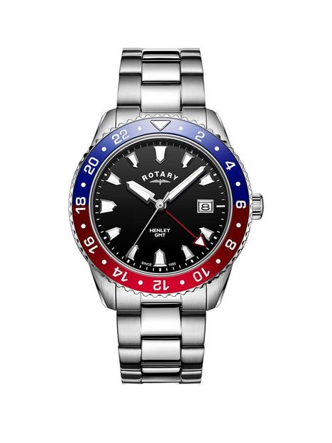 rotary-rotary-black-dial-blue-and-red-bezel-stainless-steel-bracelet-watch