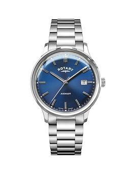 rotary-blue-date-dial-stainless-steel-bracelet-watch