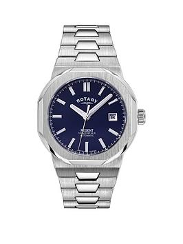 rotary-regent-blue-date-dial-stainless-steel-mens-watch