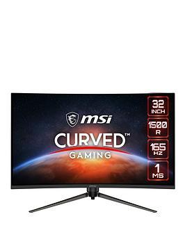 msi-optix-ag321cqr-315-inch-quad-hd-1ms-165hz-amd-freesync-curved-1500r-gaming-monitor