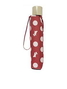 radley-polka-dog-umbrella-red