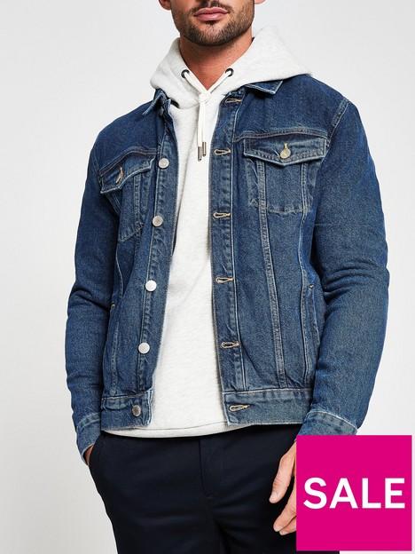 river-island-true-blue-classic-denim-jacket