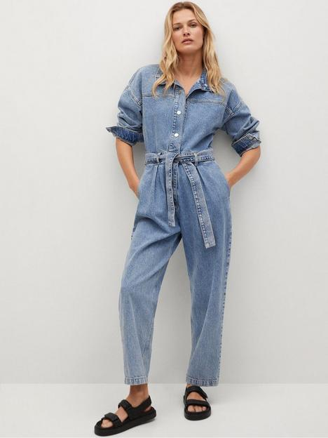 mango-long-sleeve-denim-boilersuit-blue