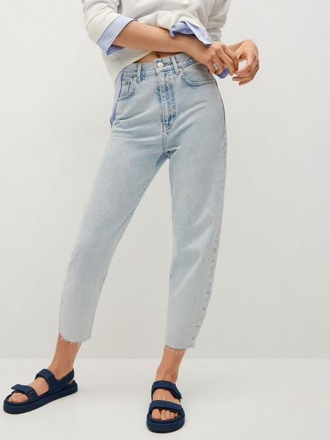 mango-cropped-high-waist-slouchy-fit-jean-white