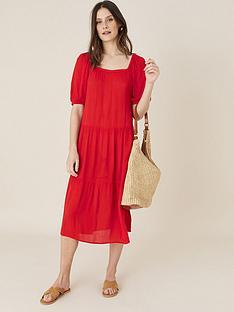 monsoon-square-neck-midi-dress