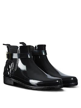 hunter-hunter-refined-gloss-quilt-chelsea-welly-boot