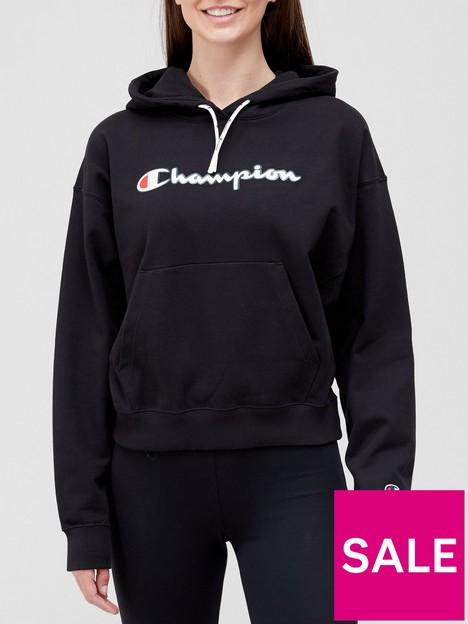 champion-hooded-sweatshirt-black
