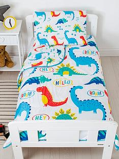 rest-easy-sleep-better-dinosaur-coverless-quilt-4-tog-junior-with-filled-pillow