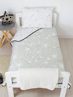 rest-easy-sleep-better-grey-star-coverless-quilt-4-tog-junior-with-filled-pillow