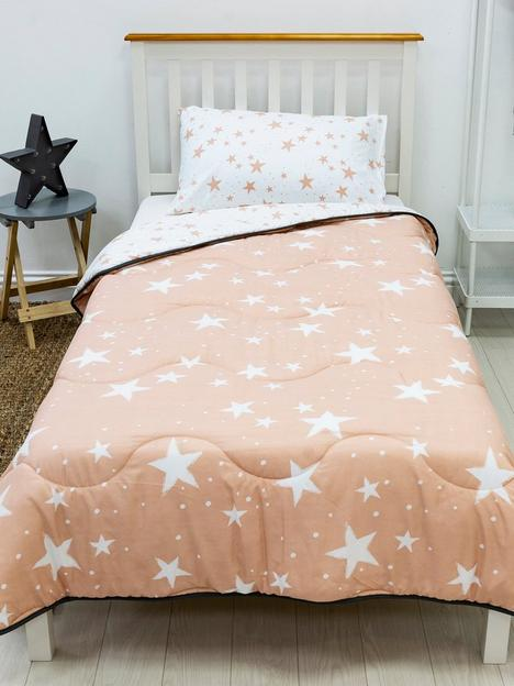 rest-easy-sleep-better-pink-star-coverless-quilt-45-tog-single-with-pillowcase