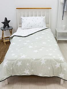 rest-easy-sleep-better-grey-star-coverless-quilt-45-tog-single-with-pillowcase