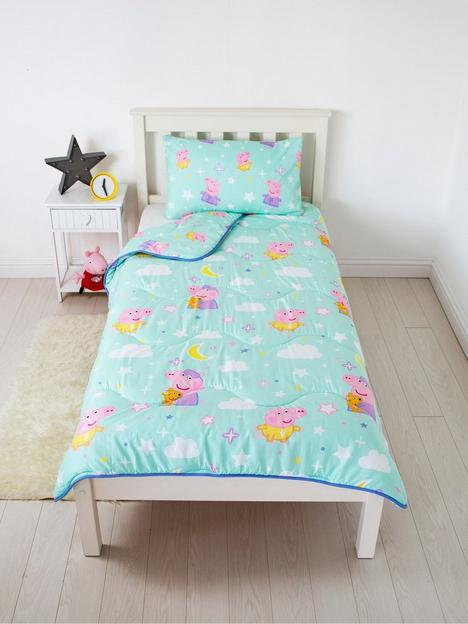 rest-easy-sleep-better-peppa-pig-coverless-quilt-45-tog-single-with-pillowcase
