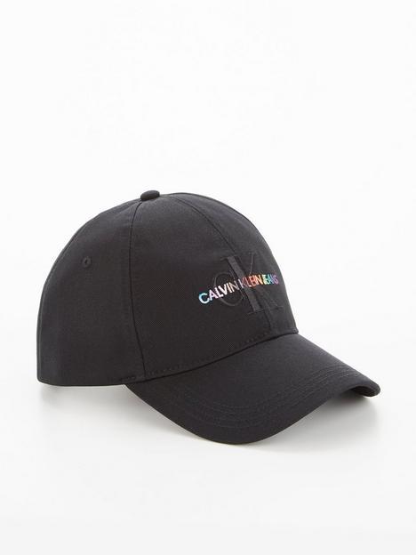 calvin-klein-pride-unisex-logo-cap-black