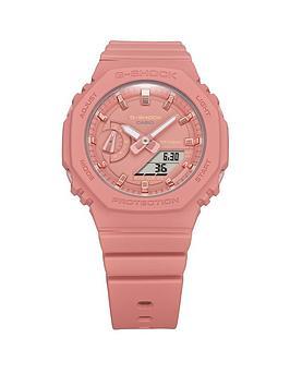 Casio Casio G Shock Mid Size Neo Pink Strap Watch, Multi, Women