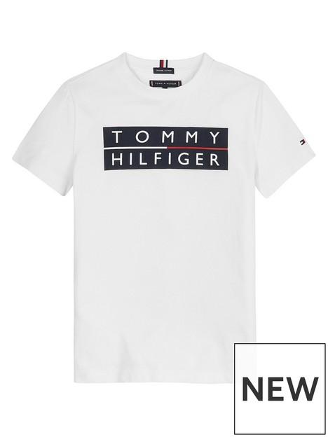 tommy-hilfiger-boys-short-sleeve-logo-t-shirt-white