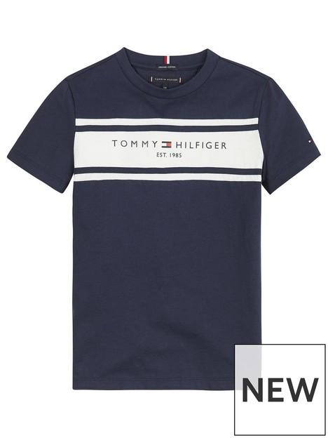 tommy-hilfiger-boys-short-sleeve-essential-blocking-t-shirt-navy